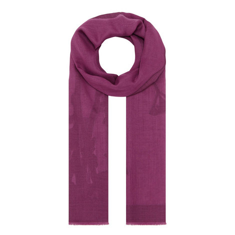 Bonn Embroidered Scarf, ${color}