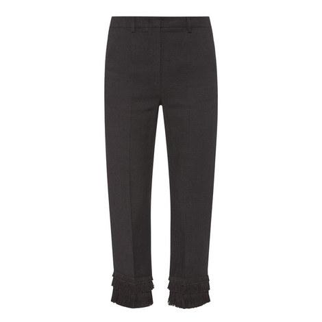 Acacia Linen Fringe Pants, ${color}