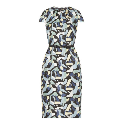 Aceto Printed Dress, ${color}