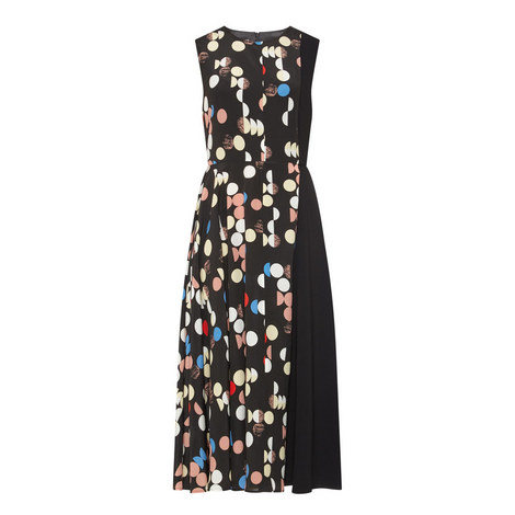 Erio Multi-Polka Dot Dress, ${color}