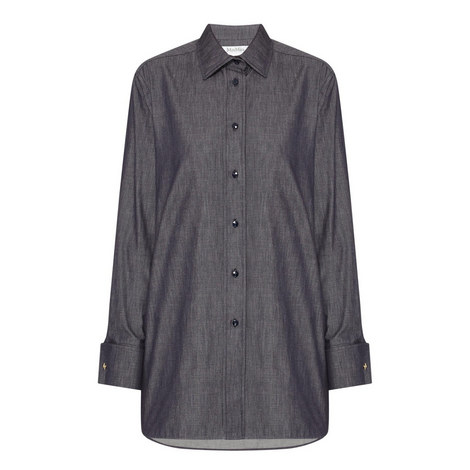 Agguati Denim Shirt , ${color}