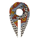 Alare Patterned Scarf, ${color}