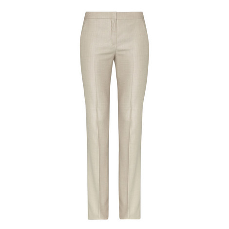 Alessia Wool Mix Trousers, ${color}