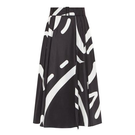 Ali Printed Midi Skirt, ${color}