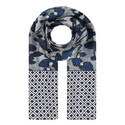 Amaca Patterned Silk Scarf, ${color}