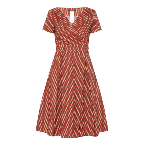 Amaca Eye Cotton Dress, ${color}