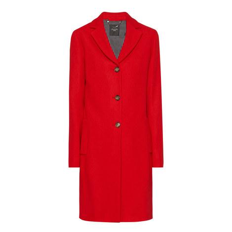 Apotema Single-Breasted Coat, ${color}