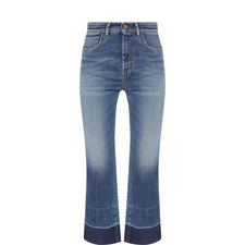 Ario Cropped Flared Jeans