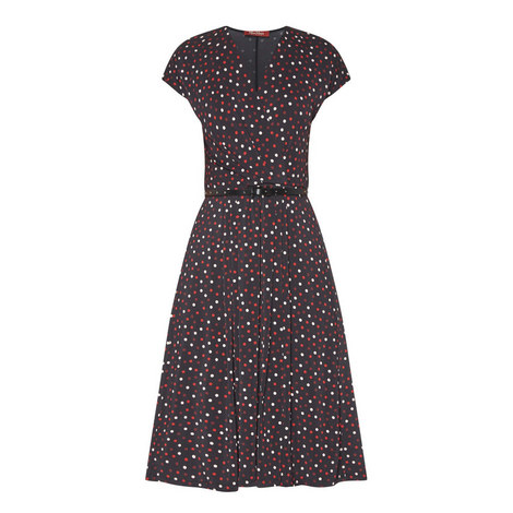 Arlette Polka Dot Dress, ${color}