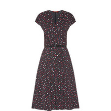 Arlette Polka Dot Dress