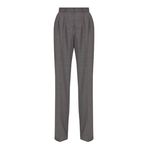 Arona Pinstripe Trousers, ${color}