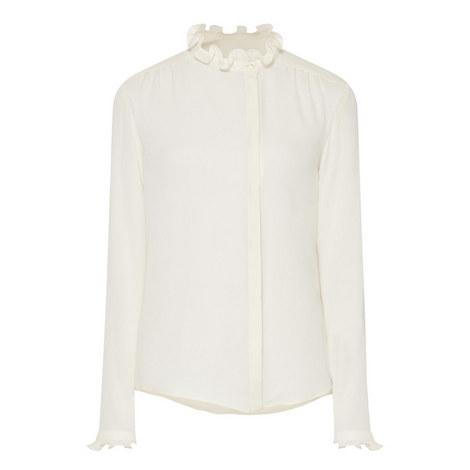 Arten Frill Neck Shirt, ${color}