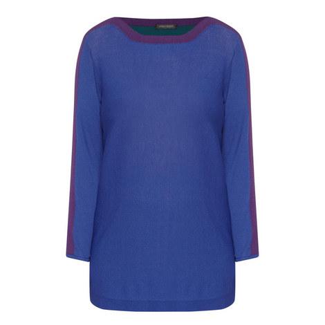 Aula Colour-Block Sweater, ${color}