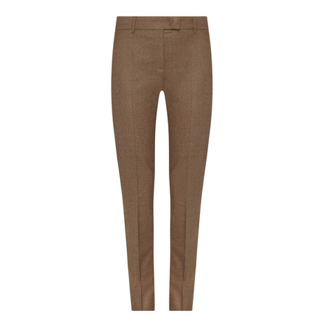 Baiardo Slim Straight Fit Trousers, ${color}