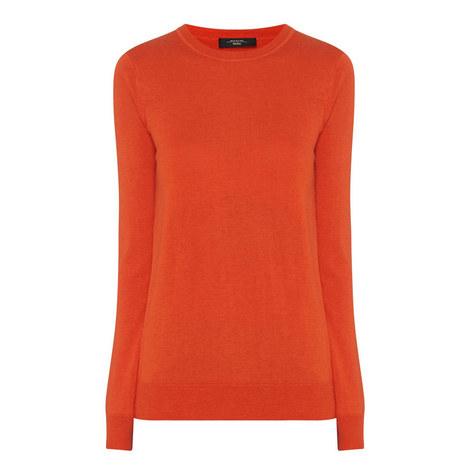 Balsamo Round Neck Sweater, ${color}
