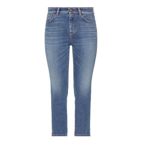 Balocco High-Rise Slim Jeans, ${color}
