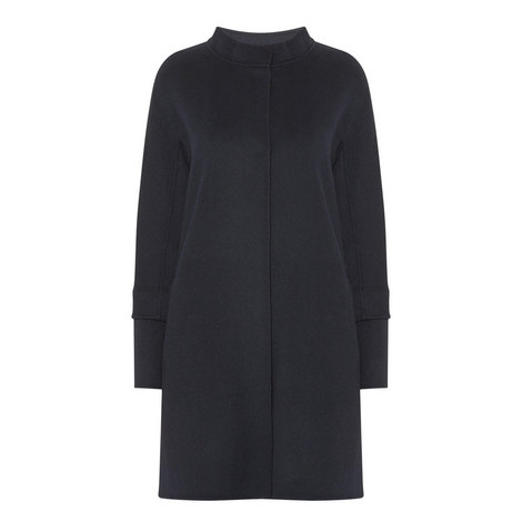 Funnel Neck Wool Coat, ${color}