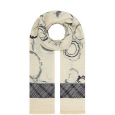Belluno Patterned Scarf