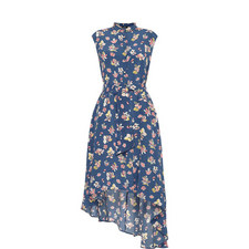 Macao Floral Cap Sleeve Dress