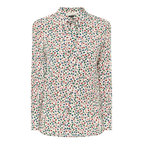 Ofelia Printed Blouse, ${color}