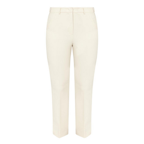 Pesche Slim Kick Flare Trousers, ${color}