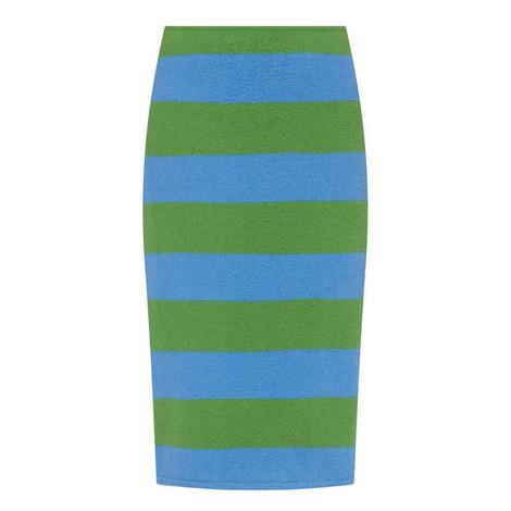 Brasile Stripe Pencil Skirt, ${color}