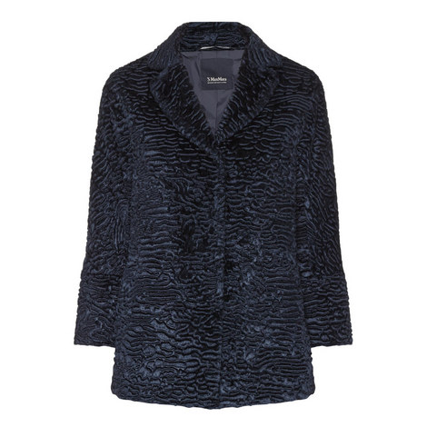 Textured Velvet Jacket, ${color}