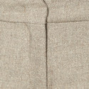 Bu Herringbone Cropped Trousers, ${color}
