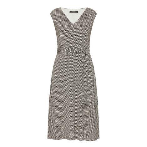 Patterned Jersey Dress, ${color}