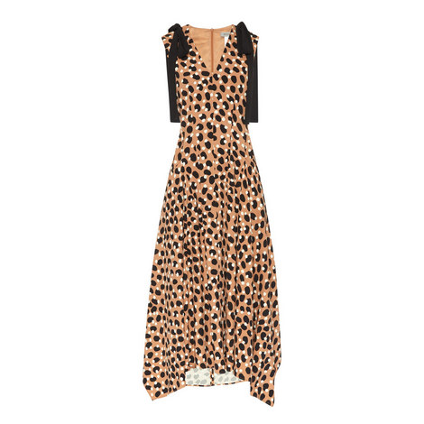 Buona Patterned Midi Dress, ${color}