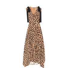 Buona Patterned Midi Dress