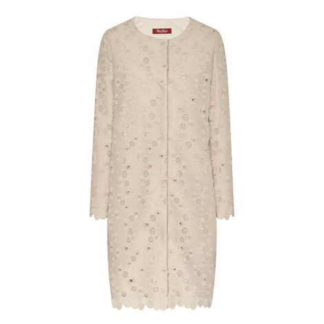 Cacio Sheer Detail Coat, ${color}