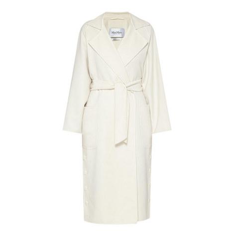 Alacre Wool-Cashmere Coat, ${color}