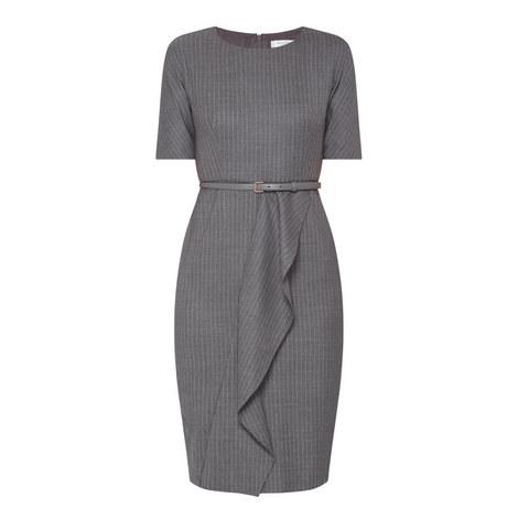 Alberta Pinstripe Dress, ${color}