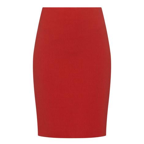 Calibri Wool Pencil Skirt, ${color}