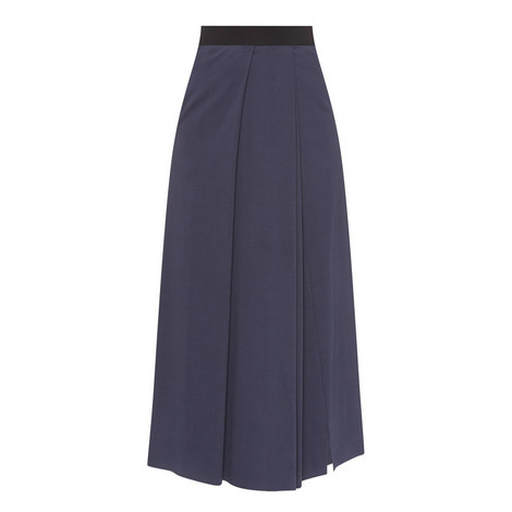 Long Pleated Skirt, ${color}