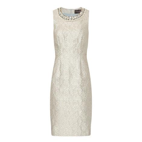 Carella Jewel Embellished Dress, ${color}