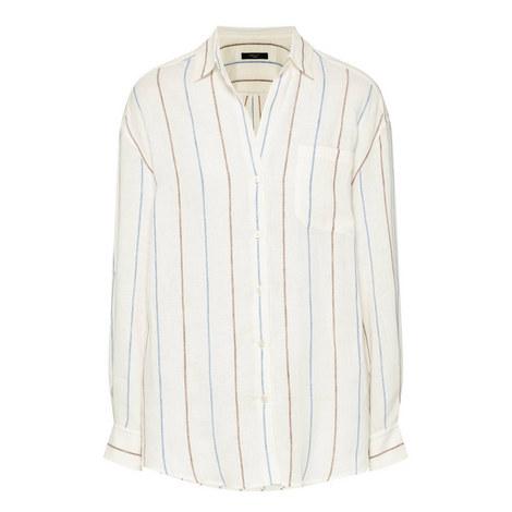 Cambio Linen Shirt, ${color}