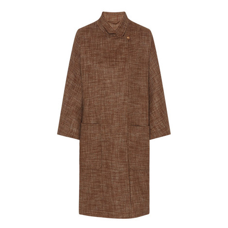 Cennare Relaxed Cashmere Coat, ${color}