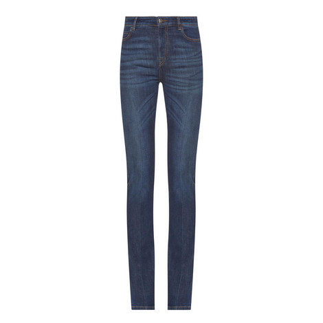 Cervo Slim Bootcut Jeans, ${color}