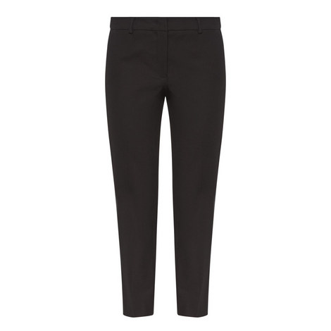 Fauno Cropped Trousers, ${color}