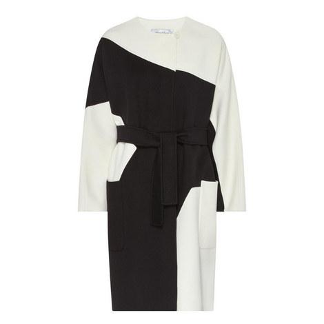 Chic Colour-Block Coat, ${color}