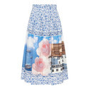 Cleofe Print Skirt , ${color}
