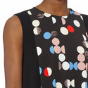 Clipper Multi-Polka Dot Dress, ${color}