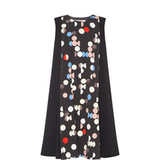 Clipper Multi-Polka Dot Dress