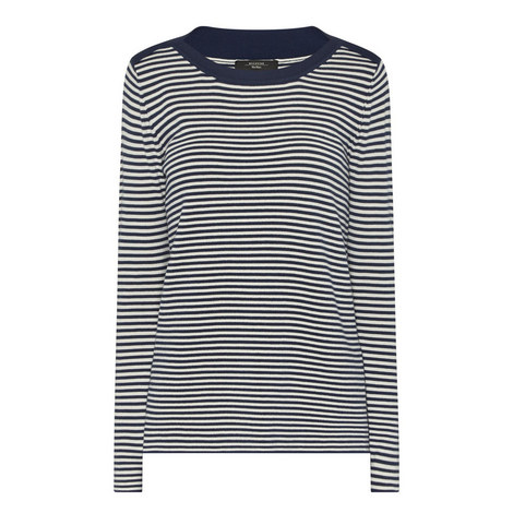 Cogne Stripe Sweater, ${color}
