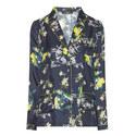 Cordoba Floral Print Pyjama Shirt, ${color}