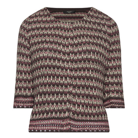 Creso Jacquard Cardigan, ${color}