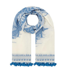 Cuneo Patterned Scarf