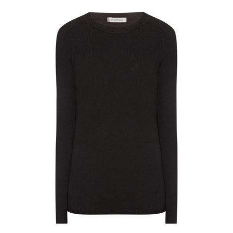 Curvato Round Neck Sweater, ${color}